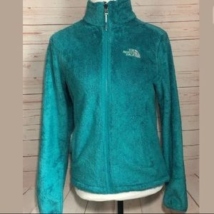 The North Face Osito Teal Fleece Jacket   Small